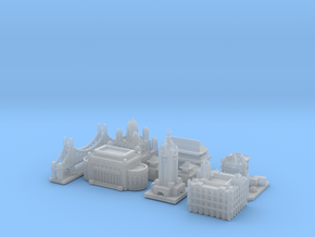 Victory Cities #1: Pacific (Larger) in Smooth Fine Detail Plastic