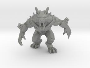 Werewolf Terminator miniature model rpg dnd games in Gray PA12