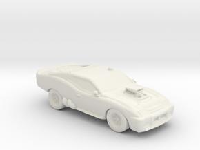 2050 Ford Falcon XZS MFP 1:160 scale in White Natural Versatile Plastic