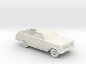 1963 Holden [EJ] 1:160 scale. in White Natural Versatile Plastic