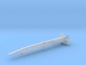 Boeing X-51 Waverider w/Booster in Smooth Fine Detail Plastic: 1:144