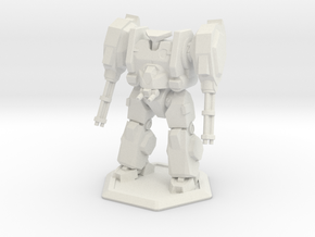 Mecha- Hunter (1/160th) in White Natural Versatile Plastic
