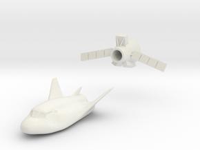 Dreamchaser Cargo Deployed 1/144 or 1/200 in White Natural Versatile Plastic: 1:144