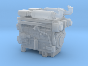 1/87th Hydraulic Fracturing TIER IV Engine in Smooth Fine Detail Plastic