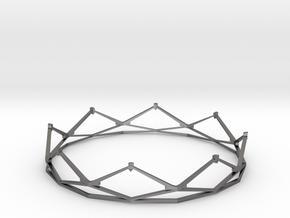 Crown in Polished Nickel Steel