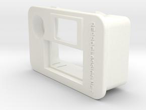 Delta Exhaust temperature & buzzer light frame 2 in White Processed Versatile Plastic