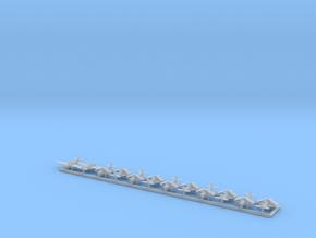 TBD w/Gear x12 (WW2) in Smooth Fine Detail Plastic: 1:600