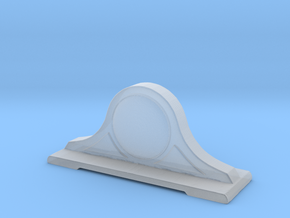 Printle Thing Table Clock - 1/24 in Smooth Fine Detail Plastic