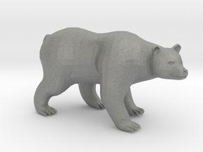 Plastic Brown Bear v3 1:48-O in Gray PA12