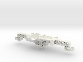 Difflockaxle upper part in White Natural Versatile Plastic