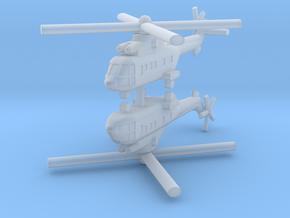 1/700 AS-332 Super Puma (x2) in Smooth Fine Detail Plastic