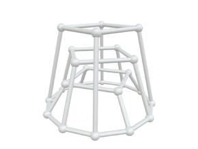 G123 - Cycles in White Natural Versatile Plastic