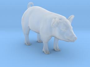 Plastic Pig v2 1:64-S 25mm in Smooth Fine Detail Plastic