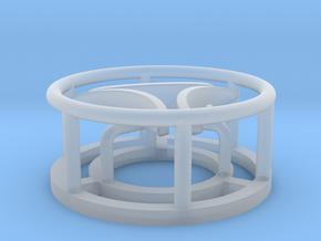 Radar scanner triple 1:160 in Smooth Fine Detail Plastic