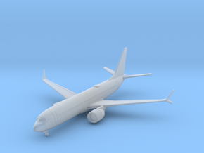 737 MAX 8 w/Gear (PA12) in Smooth Fine Detail Plastic: 1:700