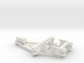 Motorpod for Thunderslot / No Offset in White Natural Versatile Plastic