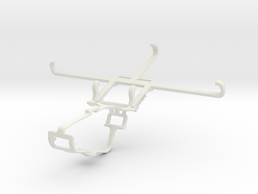 Controller mount for Xbox One & Realme GT Neo Flas in White Natural Versatile Plastic