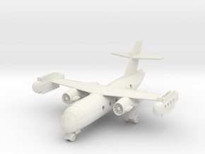 1/300 Dornier DO 31 on the ground in White Strong & Flexible
