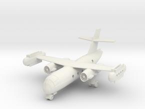1/300 Dornier DO 31 on the ground in White Natural Versatile Plastic