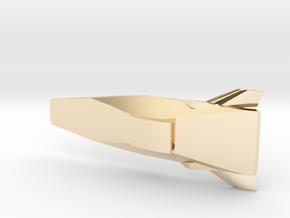 Hyper-X 1/37 in 14k Gold Plated Brass