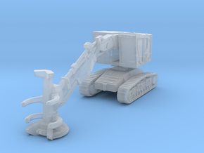 Kom XT445L-5 feller buncher in Smoothest Fine Detail Plastic: 1:220 - Z