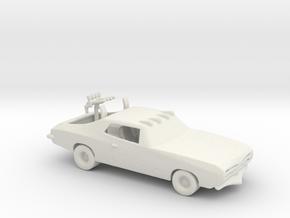 RW. 1971 Chrysler (The Green Skull) 1:160 scale in White Natural Versatile Plastic