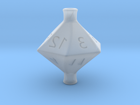 D12 Hollow Potion Dice in Smooth Fine Detail Plastic