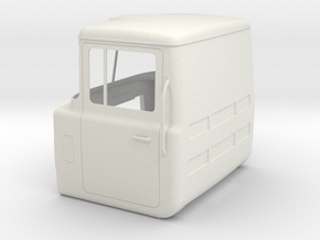 Mack-shell4 Shh-closed-doors-no-rear-window in White Strong & Flexible