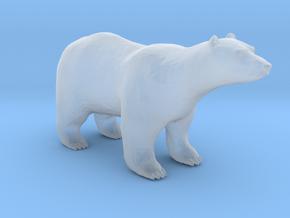 Plastic Polar Bear v1 1:160-N in Smooth Fine Detail Plastic