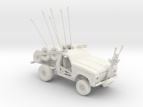 FR. Ford F-100 Tyre Medic. 1:160 Scale in White Natural Versatile Plastic