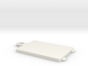 Secret Hearts Diary battery cover replacement in White Natural Versatile Plastic