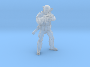 Male Colonial Marine 2 in Smooth Fine Detail Plastic