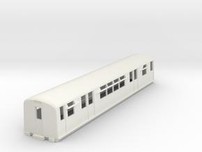O-87-district-o-p-q38-trailer-coach in White Natural Versatile Plastic