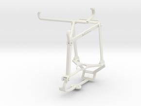 Controller mount for Steam & vivo iQOO Z3 - Top in White Natural Versatile Plastic