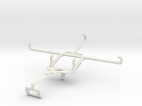 Controller mount for Xbox One S & vivo iQOO Z3 - F in White Natural Versatile Plastic