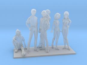 1/72 Macross Frontier Figures Collection in Smoothest Fine Detail Plastic