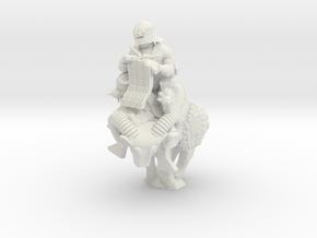 Ram Knight Knitter in White Natural Versatile Plastic