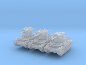 Matilda II (late) (x3) 1/285 in Smooth Fine Detail Plastic
