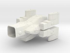 LOGH Imperial Garga Falmul 1:3000 (Part 3/3) in White Natural Versatile Plastic