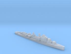 USS Allen M. Sumner destroyer 1944 1:2500 WW2 in Smooth Fine Detail Plastic
