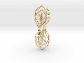 A-LINE Honeytwin, Pendant in 14K Yellow Gold