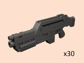 1/35 M41 pulse rifle in Smoothest Fine Detail Plastic