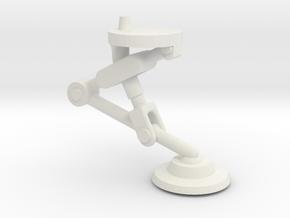 Adamski Style Landing Gear rev-2  @ .927 high in White Natural Versatile Plastic