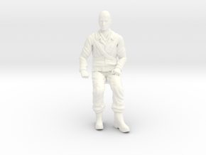 Fantastic Voyage - Dr. Michaels - Seated in White Processed Versatile Plastic