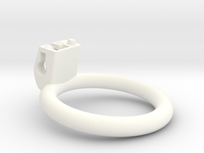 Cherry Keeper Ring G2 - 45mm Flat +7° in White Processed Versatile Plastic
