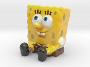 SpongeBob SquarePants - Miniature in Glossy Full Color Sandstone