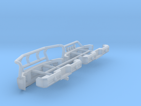 1/64 Greenlight Chevy 3500 Bumpers in Smooth Fine Detail Plastic
