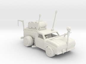 1973_Ford_F-100_(Teeny_Hauler) 1:160 scale in White Natural Versatile Plastic