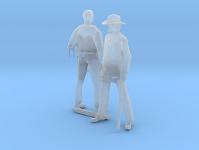 HO Scale Old West Figures in Smoothest Fine Detail Plastic