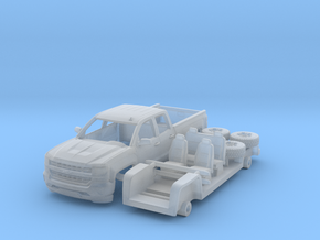 Chevy Silverado 1-87 HO Scale  in Smoothest Fine Detail Plastic